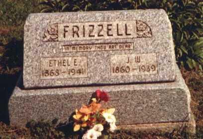 FRIZZELL, ELIZABETH ETHEL - Muskingum County, Ohio | ELIZABETH ETHEL FRIZZELL - Ohio Gravestone Photos
