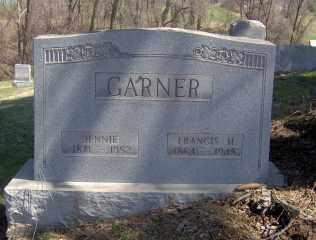 GARNER, FRANCIS H - Muskingum County, Ohio | FRANCIS H GARNER - Ohio Gravestone Photos
