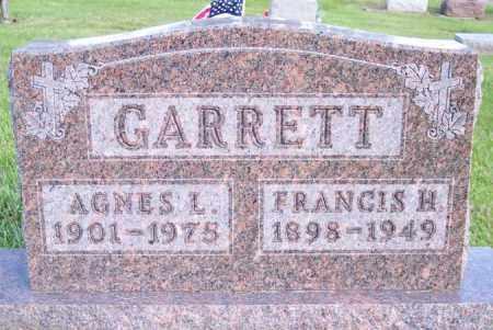 GARRETT, AGNES L. - Muskingum County, Ohio | AGNES L. GARRETT - Ohio Gravestone Photos