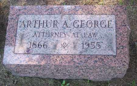 GEORGE, ARTHUR A. - Muskingum County, Ohio | ARTHUR A. GEORGE - Ohio Gravestone Photos