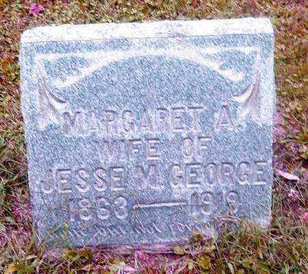 GEORGE, MARGARET A. - Muskingum County, Ohio | MARGARET A. GEORGE - Ohio Gravestone Photos