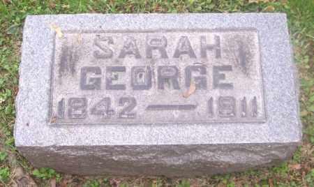 GEORGE, SARAH - Muskingum County, Ohio   SARAH GEORGE - Ohio Gravestone Photos