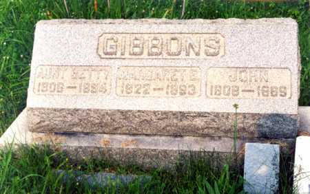 GIBBONS GIBBONS, BETTY - Muskingum County, Ohio | BETTY GIBBONS GIBBONS - Ohio Gravestone Photos