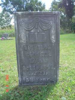 GLOSSER, NICHOLAS - Muskingum County, Ohio | NICHOLAS GLOSSER - Ohio Gravestone Photos
