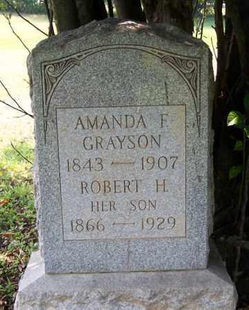 GRAYSON, ROBERT H. - Muskingum County, Ohio | ROBERT H. GRAYSON - Ohio Gravestone Photos