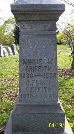 GRIFFITH, MINNIE M. - Muskingum County, Ohio | MINNIE M. GRIFFITH - Ohio Gravestone Photos