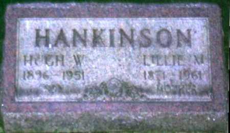 HANKINSON, HUGH W. - Muskingum County, Ohio | HUGH W. HANKINSON - Ohio Gravestone Photos