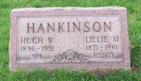 HANKINSON, HUGH W. - Muskingum County, Ohio | HUGH W. HANKINSON - Ohio Gravestone Photos
