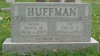 HUFFMAN, MAUD M. - Muskingum County, Ohio | MAUD M. HUFFMAN - Ohio Gravestone Photos