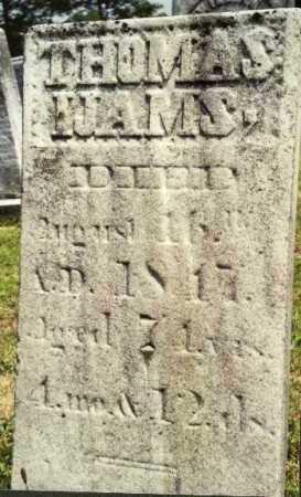 IJAMS, THOMAS - Muskingum County, Ohio   THOMAS IJAMS - Ohio Gravestone Photos