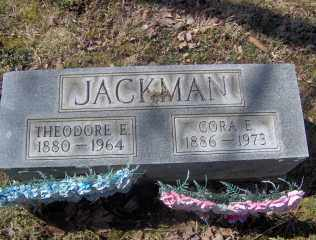 JACKMAN, CORA E - Muskingum County, Ohio | CORA E JACKMAN - Ohio Gravestone Photos