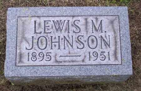 JOHNSON, LEWIS M. - Muskingum County, Ohio   LEWIS M. JOHNSON - Ohio Gravestone Photos