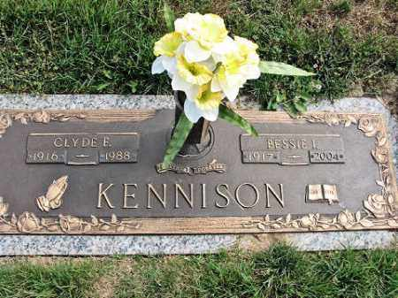 KENNISON, CLYDE E. - Muskingum County, Ohio | CLYDE E. KENNISON - Ohio Gravestone Photos