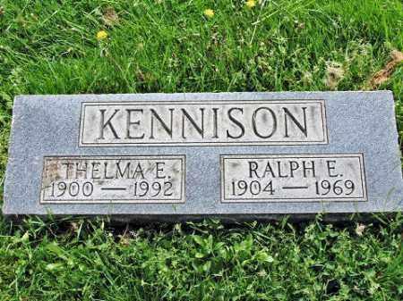 KENNISON, RALPH E. - Muskingum County, Ohio | RALPH E. KENNISON - Ohio Gravestone Photos