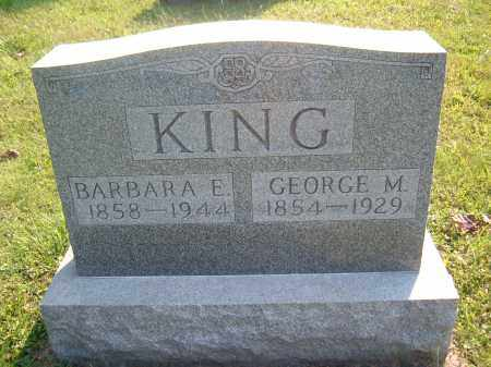 KING, BARBARA E - Muskingum County, Ohio | BARBARA E KING - Ohio Gravestone Photos