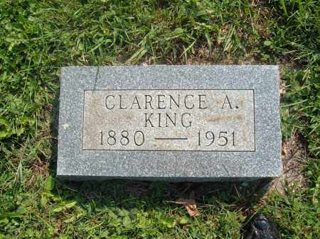 KING, CLARENCE A - Muskingum County, Ohio | CLARENCE A KING - Ohio Gravestone Photos