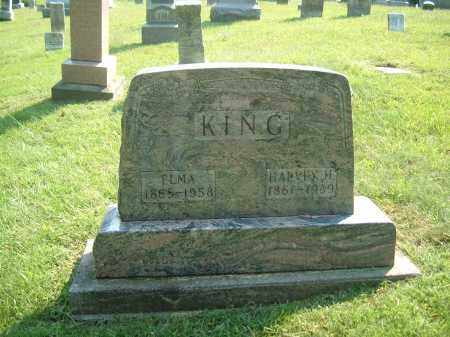 KING, ELMA - Muskingum County, Ohio | ELMA KING - Ohio Gravestone Photos