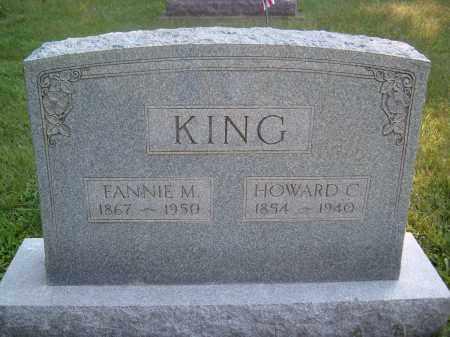 KING, HOWARD C - Muskingum County, Ohio | HOWARD C KING - Ohio Gravestone Photos