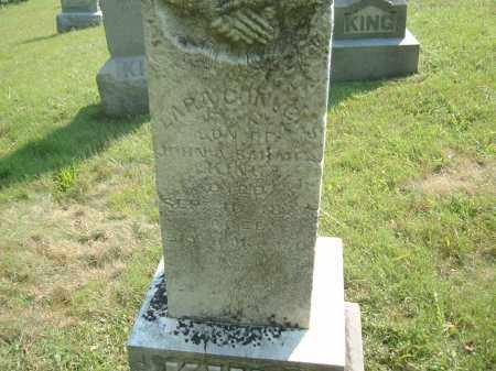 KING, LARN CONVERS - Muskingum County, Ohio | LARN CONVERS KING - Ohio Gravestone Photos