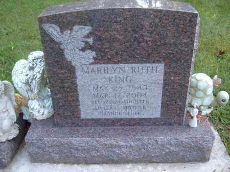 KING, MARILYN RUTH - Muskingum County, Ohio   MARILYN RUTH KING - Ohio Gravestone Photos