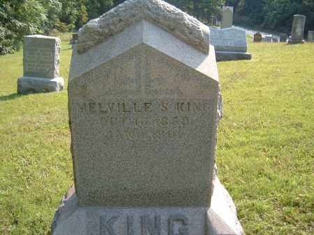KING, MELVILLE S. - Muskingum County, Ohio   MELVILLE S. KING - Ohio Gravestone Photos