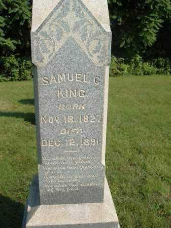 KING, SAMUEL C - Muskingum County, Ohio | SAMUEL C KING - Ohio Gravestone Photos