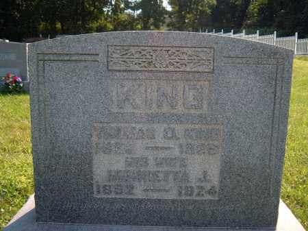 ? KING, THOMAS A - Muskingum County, Ohio | THOMAS A ? KING - Ohio Gravestone Photos