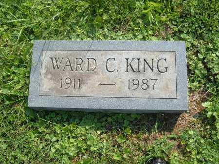 KING, WARD C - Muskingum County, Ohio   WARD C KING - Ohio Gravestone Photos