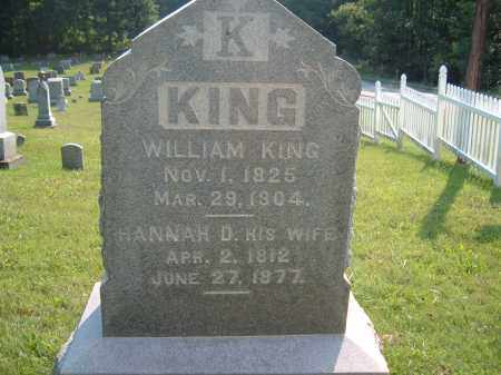 KING, HANNAH D. - Muskingum County, Ohio | HANNAH D. KING - Ohio Gravestone Photos