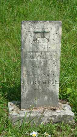 LORIMER, INFANT SON - Muskingum County, Ohio   INFANT SON LORIMER - Ohio Gravestone Photos