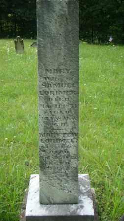 LORIMER, MARY - Muskingum County, Ohio   MARY LORIMER - Ohio Gravestone Photos