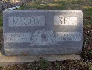 MCCOY, ESTELLA - Muskingum County, Ohio | ESTELLA MCCOY - Ohio Gravestone Photos
