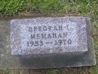 MCMAHAN, DEBORAH IRENE - Muskingum County, Ohio   DEBORAH IRENE MCMAHAN - Ohio Gravestone Photos
