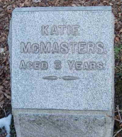MCMASTERS, KATIE - Muskingum County, Ohio | KATIE MCMASTERS - Ohio Gravestone Photos