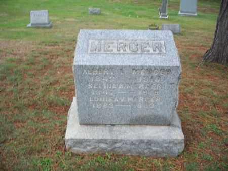 MERCER, SELINA B. - Muskingum County, Ohio | SELINA B. MERCER - Ohio Gravestone Photos