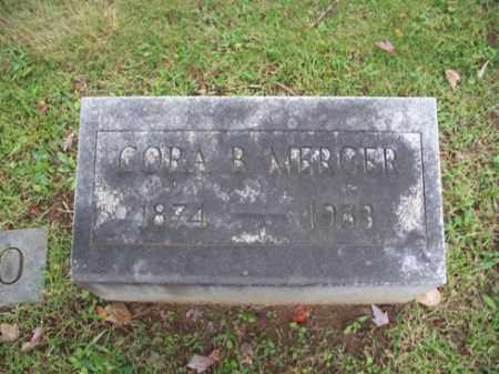 MERCER, CORA B. - Muskingum County, Ohio   CORA B. MERCER - Ohio Gravestone Photos
