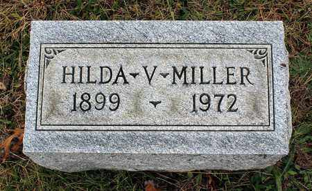 MILLER, HILDA V. - Muskingum County, Ohio | HILDA V. MILLER - Ohio Gravestone Photos