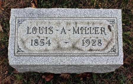 MILLER, LOUIS A. - Muskingum County, Ohio | LOUIS A. MILLER - Ohio Gravestone Photos