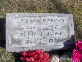 MORGAN, JOHN A - Muskingum County, Ohio   JOHN A MORGAN - Ohio Gravestone Photos