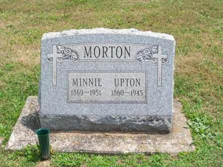 MORTON, MINNIE - Muskingum County, Ohio | MINNIE MORTON - Ohio Gravestone Photos