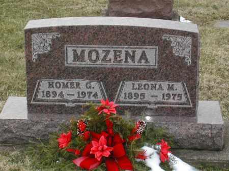 MEEKER MOZENA, LEONA MYRTLE - Muskingum County, Ohio | LEONA MYRTLE MEEKER MOZENA - Ohio Gravestone Photos