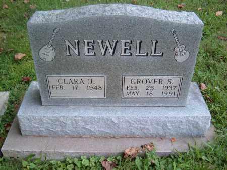 NEWELL, CLARA J - Muskingum County, Ohio | CLARA J NEWELL - Ohio Gravestone Photos