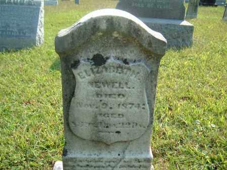 NEWELL, ELIZABETH ? - Muskingum County, Ohio   ELIZABETH ? NEWELL - Ohio Gravestone Photos