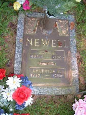 NEWELL, LAURINDA B - Muskingum County, Ohio | LAURINDA B NEWELL - Ohio Gravestone Photos