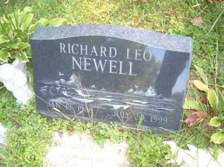 NEWELL, RICHARD LEO - Muskingum County, Ohio | RICHARD LEO NEWELL - Ohio Gravestone Photos