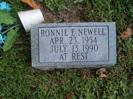 NEWELL, RONNIE E - Muskingum County, Ohio | RONNIE E NEWELL - Ohio Gravestone Photos
