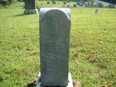 NEWELL, REBECCA D.? - Muskingum County, Ohio | REBECCA D.? NEWELL - Ohio Gravestone Photos