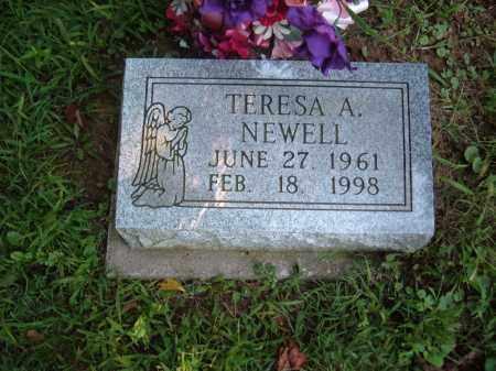 ? NEWELL, TERESA A - Muskingum County, Ohio | TERESA A ? NEWELL - Ohio Gravestone Photos