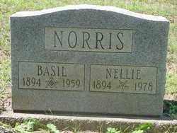 NORRIS, BASIL - Muskingum County, Ohio | BASIL NORRIS - Ohio Gravestone Photos