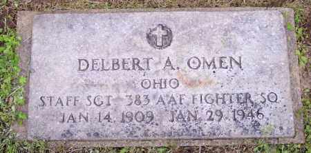OMEN, DELBERT A. - Muskingum County, Ohio   DELBERT A. OMEN - Ohio Gravestone Photos